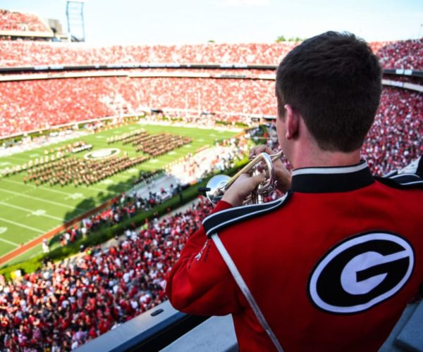 'Battle Hymn of the Bulldog Nation' has become a powerful pregame tradition at Georgia home games